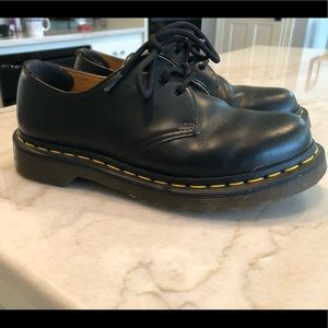 Classic Black Doc Martens in great condition!